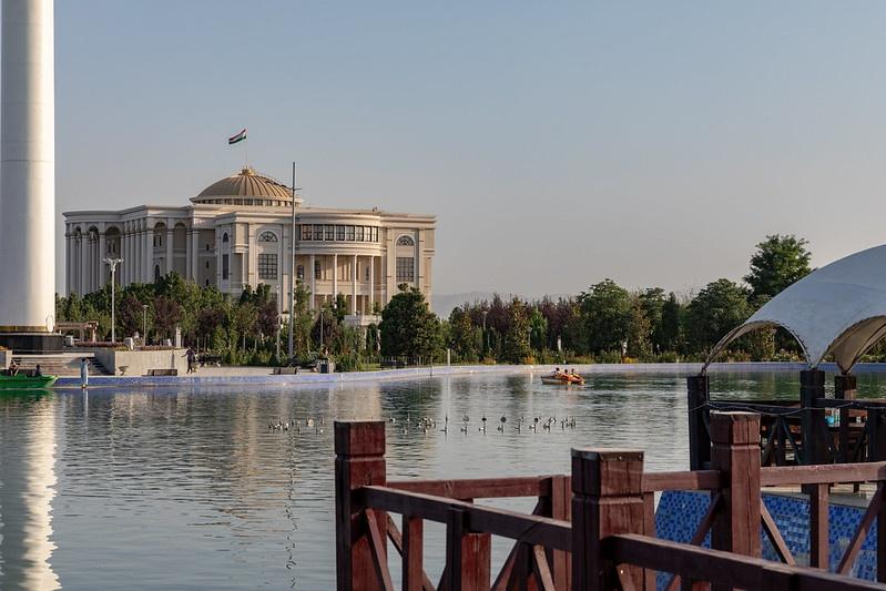 Tadjikistan Douchanbé Palais Présidentiel