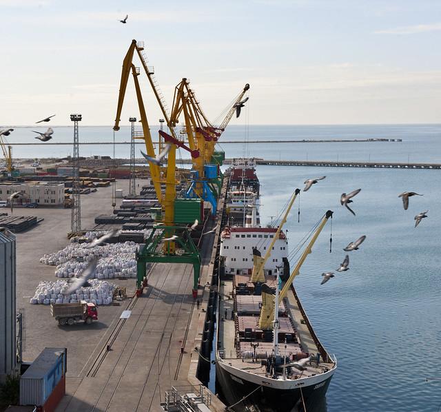 Port Aktaou Kazakhstan