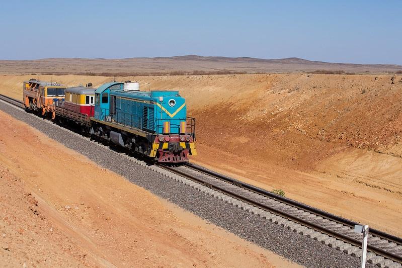 Kazakhstan Chine Transit Train Europe Chemin de fer