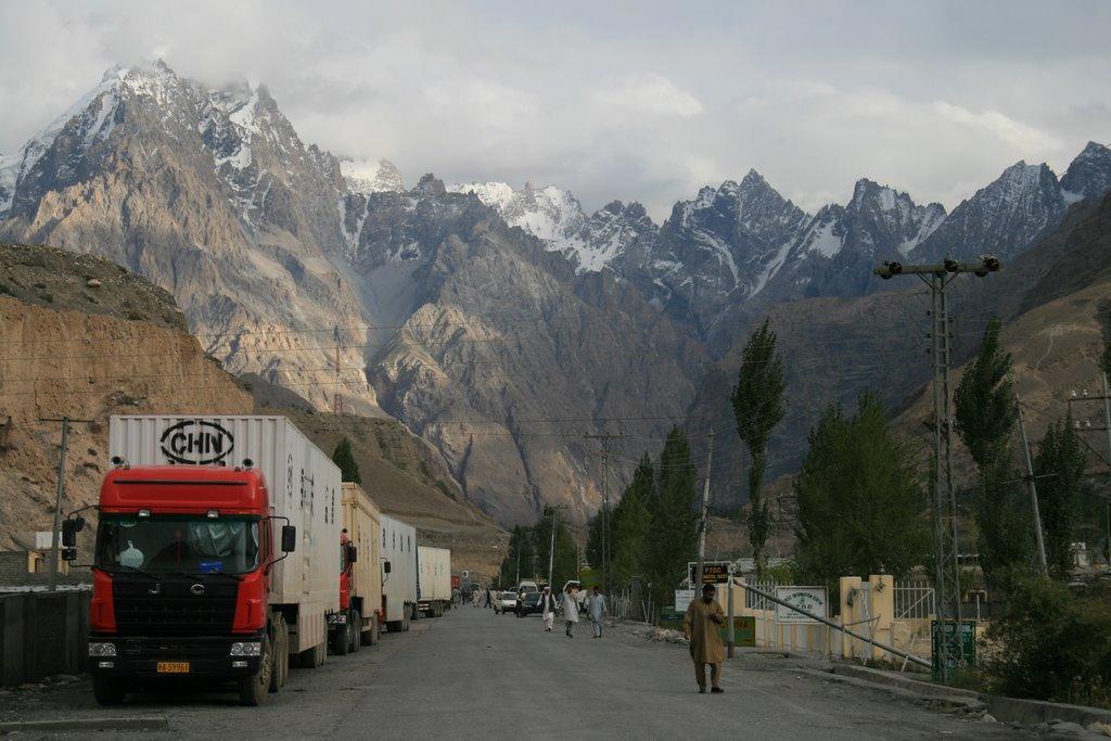 Camions Chine Pakistan Pamir