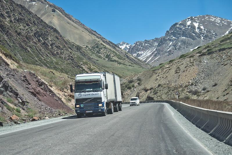 Kazakhstan Chine Transit Train EuropeCamion Kirghizstan
