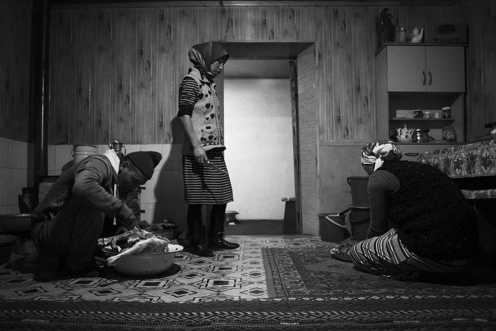 Photo du Jour Rangkul Tadjikistan Famille Repas