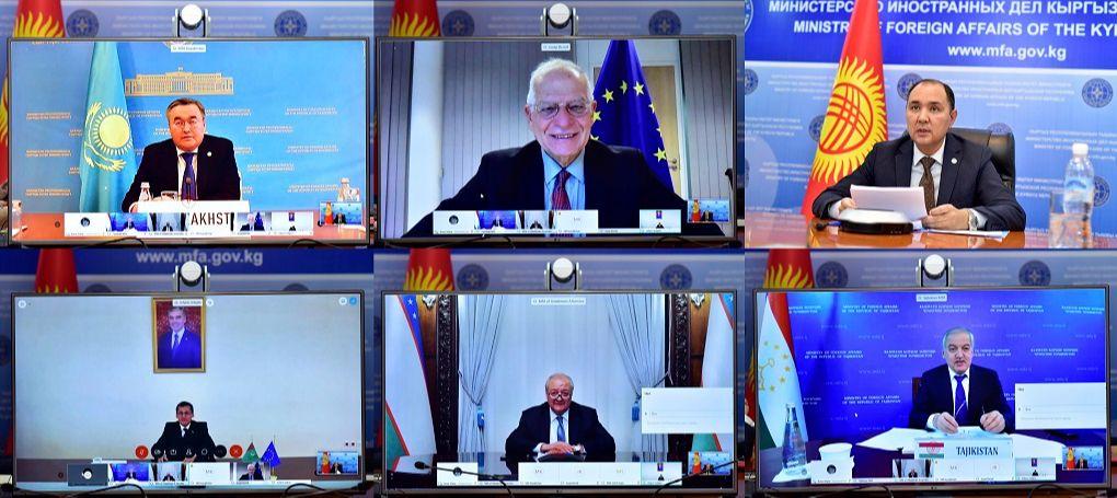 Diplomatie Union européenne Asie centrale Réunion ministérielle