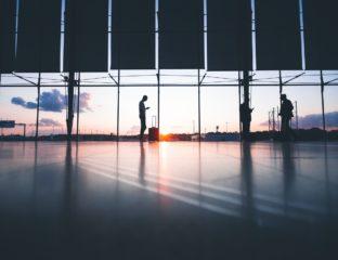 Illustration d'un aéroport.