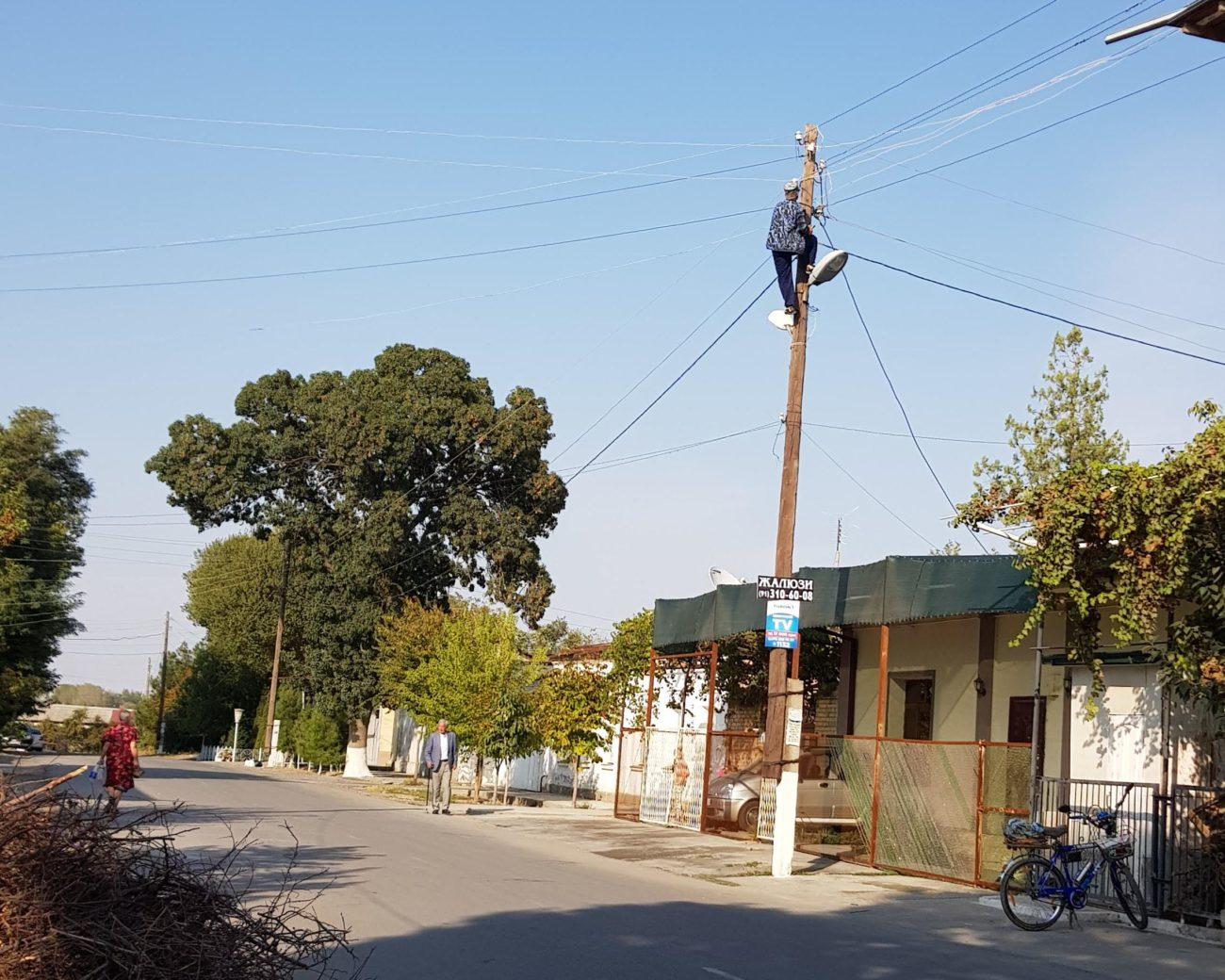 Gaz Ouzbékistan Electricité Energie Hiver Temperature