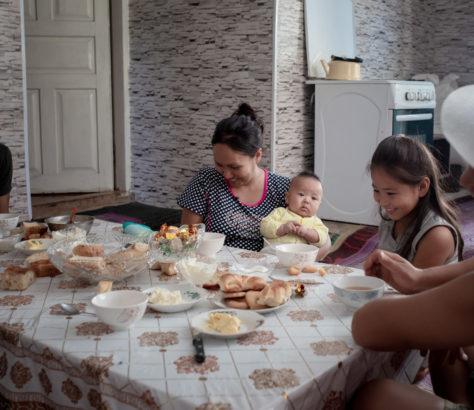Photo du jour Irina Unruh Kirghizstan Famille