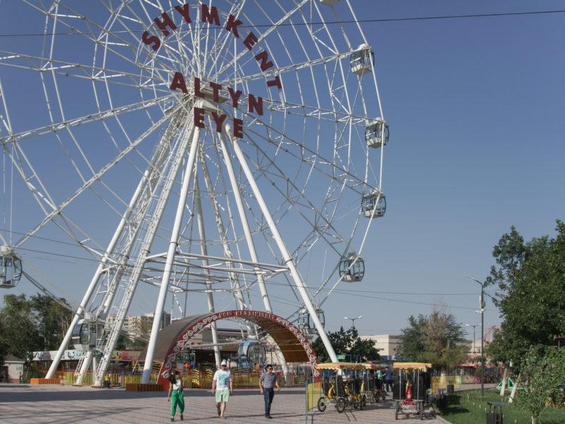 kazakhstan Chimkent Alton eye grande roue