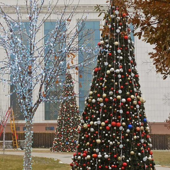 Ouzbékistan Tachkent nouvel an hiver noël