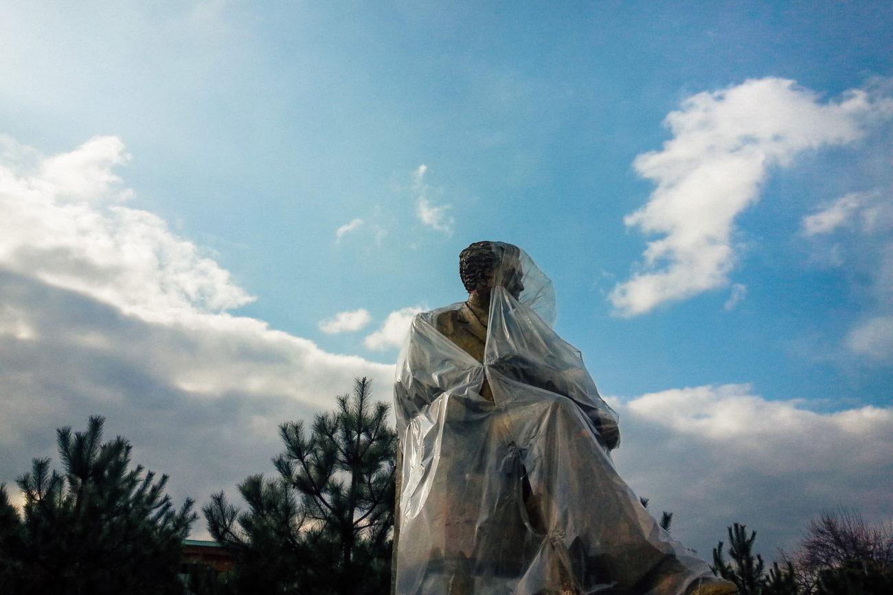 Ouzbékistan Stanislav Magay Tachkent monument écrivain