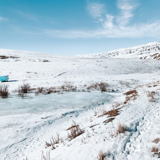 kirghizstan naryn neige hiver