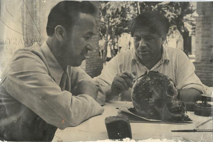 Guerassimov crâne Tamerlan Amir Temur Découverte Archéologie Tombeau