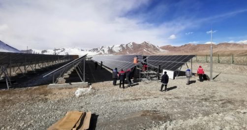 Pamir Tadjikistan Energies renouvelables centrale Solaire Mourghab