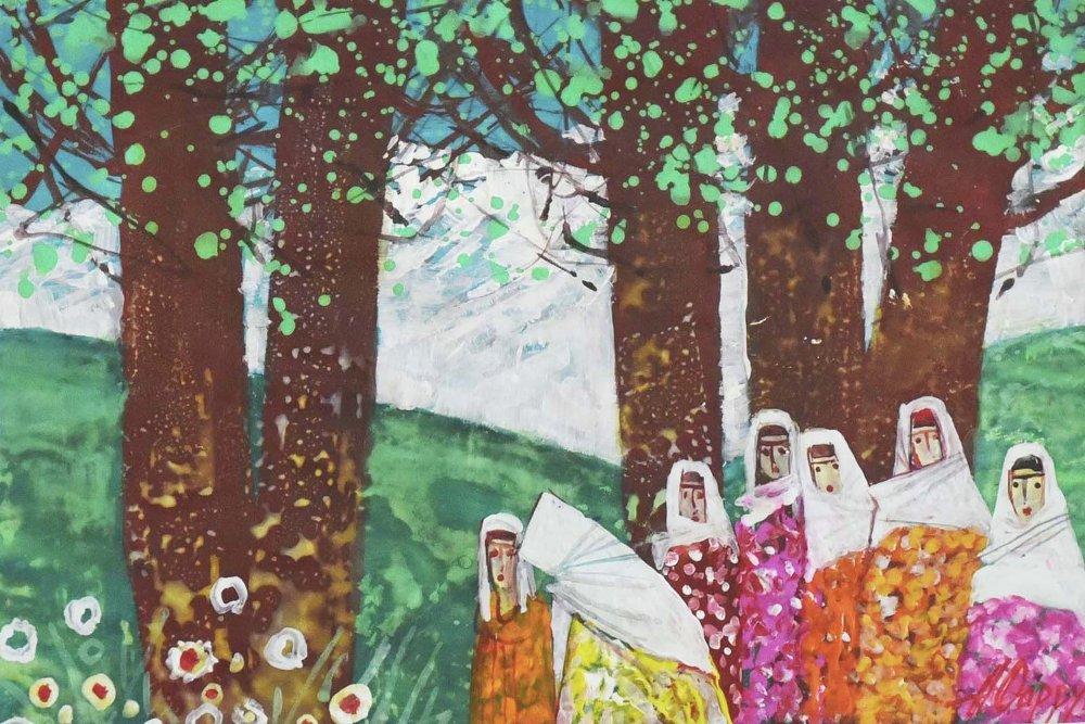 Farrukh Negmatzade Peintre Tadjikistan Culture Art Artiste