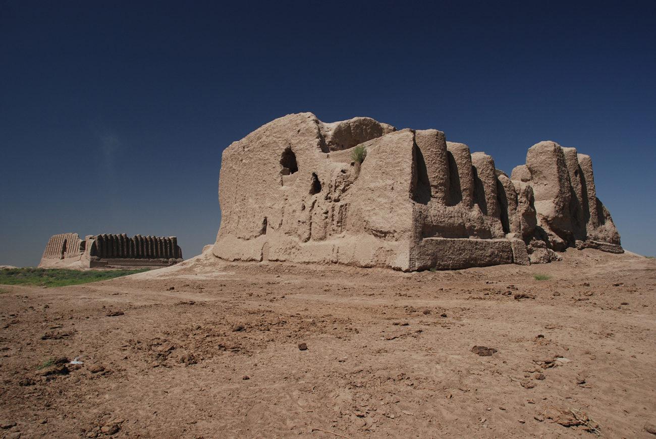 Merv Kyz Kala Turkménistan