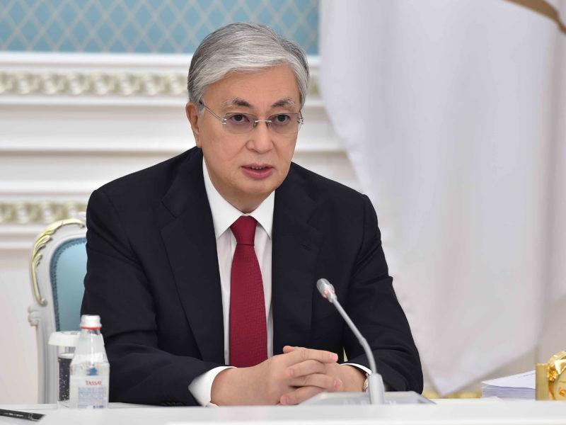 Kassym-Jomart Tokaïev Kazakh Kazakhstan