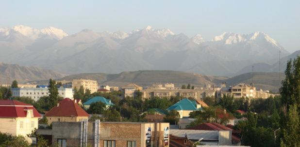 Bichkek Pollution Air Environnement