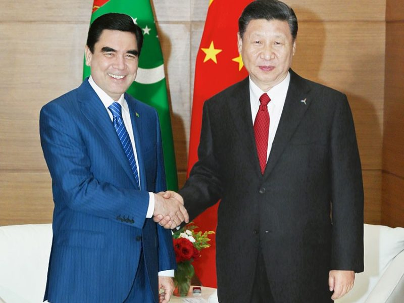 Gourbangouly Berdimouhamedov Xi Jinping Diplomatie Turkménistan Chine