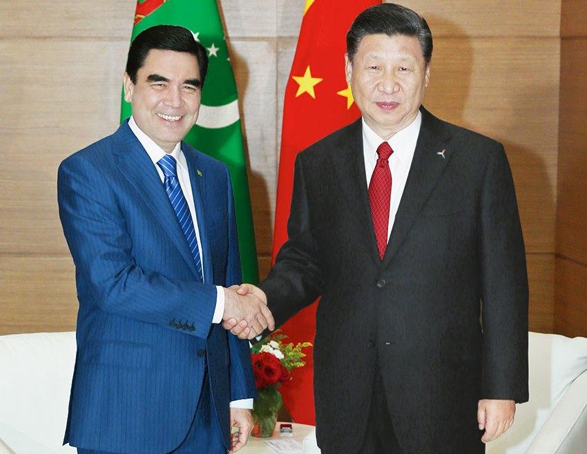 Gourbangouly Berdimouhamedov Xi Jinping Diplomatie Turkménistan Chine