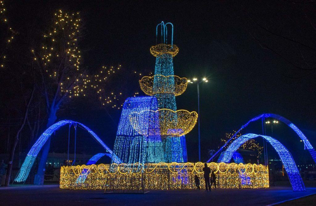 Ouzbékistan Tachkent nouvel an 2021