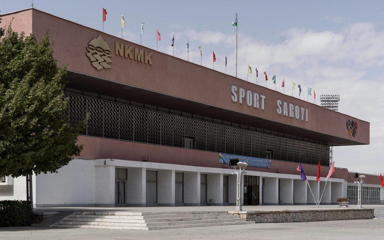 Palais de Sports Navoi Ouzbékistan Architecture soviétique