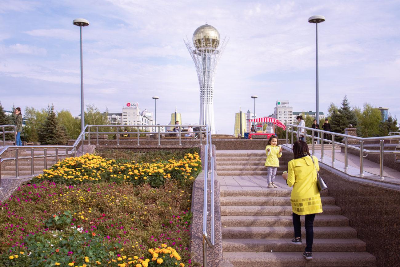 Photo du jour Kazakhstan Nur-Sultan Monument Bayterek