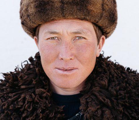 Photo du jour Kirghizstan Théo Saffroy Portrait Kok Boru