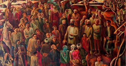 Peinture Tadjikistan Art Culture Peintres