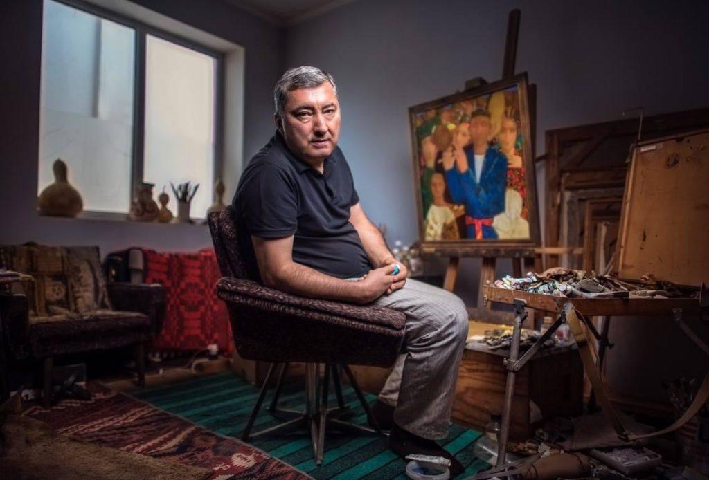 Akmal Mirshakar Peintre Tadjikistan Culture Art Artiste