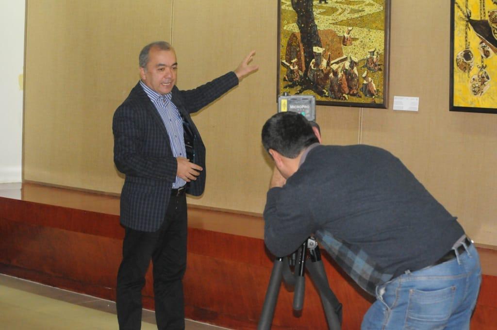 Daler Mehtodjev Peintre Tadjikistan Culture Art Artiste