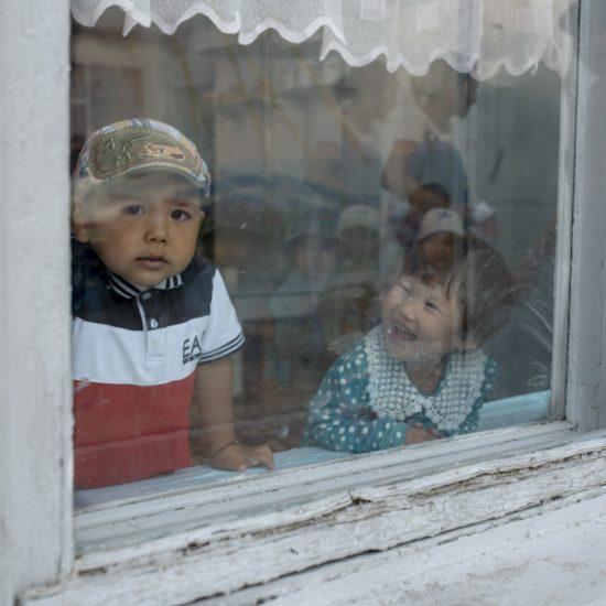 Photo du jour Kirghizstan Irina Unruh enfant