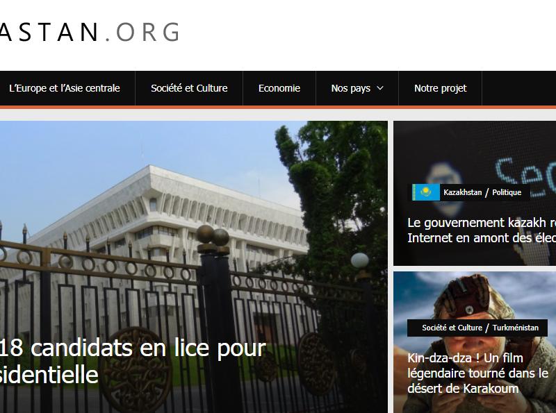 Novastan Média Journalisme Asie centrale Récap