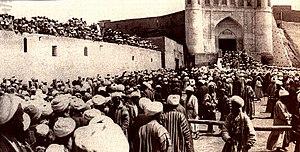 Boukhara Ouzbékistan Révolution 1920
