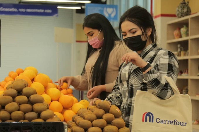 carrefour commerce achats fruits légumes import export