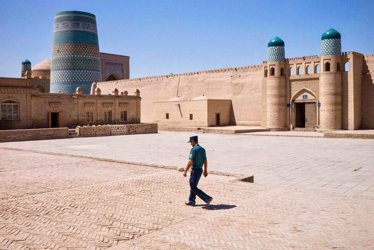 Ouzbékistan Khiva Itchan Kala muraille quartier historique