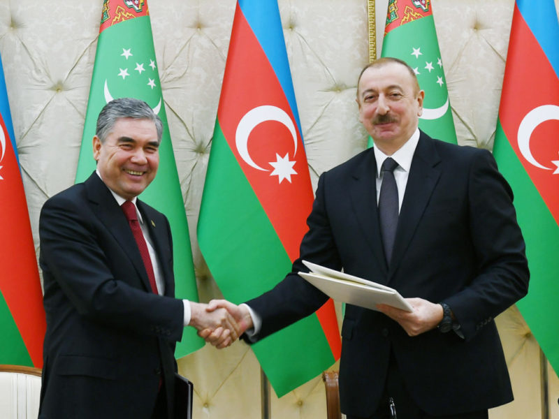 Turkménistan Azerbaïdjan Accord Mer Caspienne