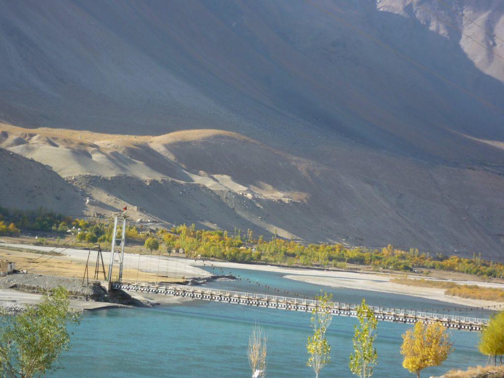 Pont Tourisme Tadjikistan Campagnes Environnement Développement Economie