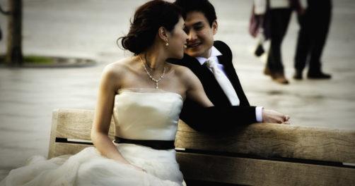Kazakhstan mariage couple