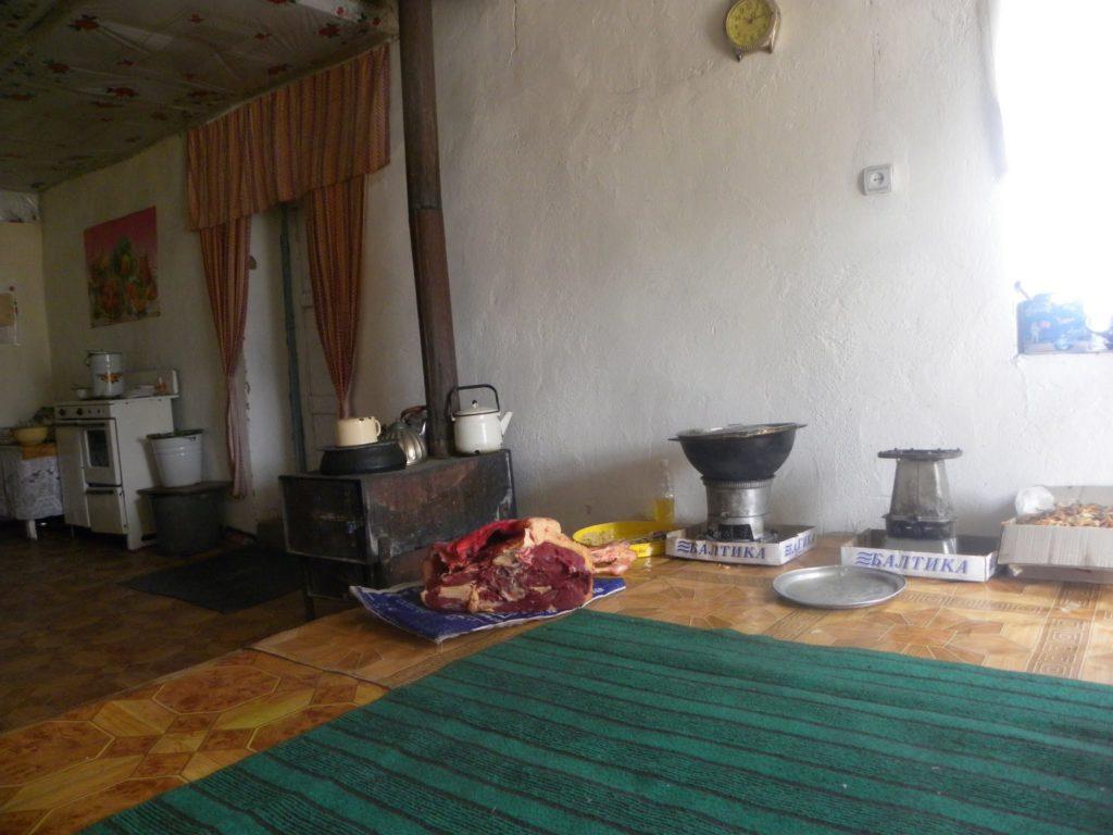 Restaurant Mourgab Tourisme Tadjikistan Campagnes Environnement Développement Economie