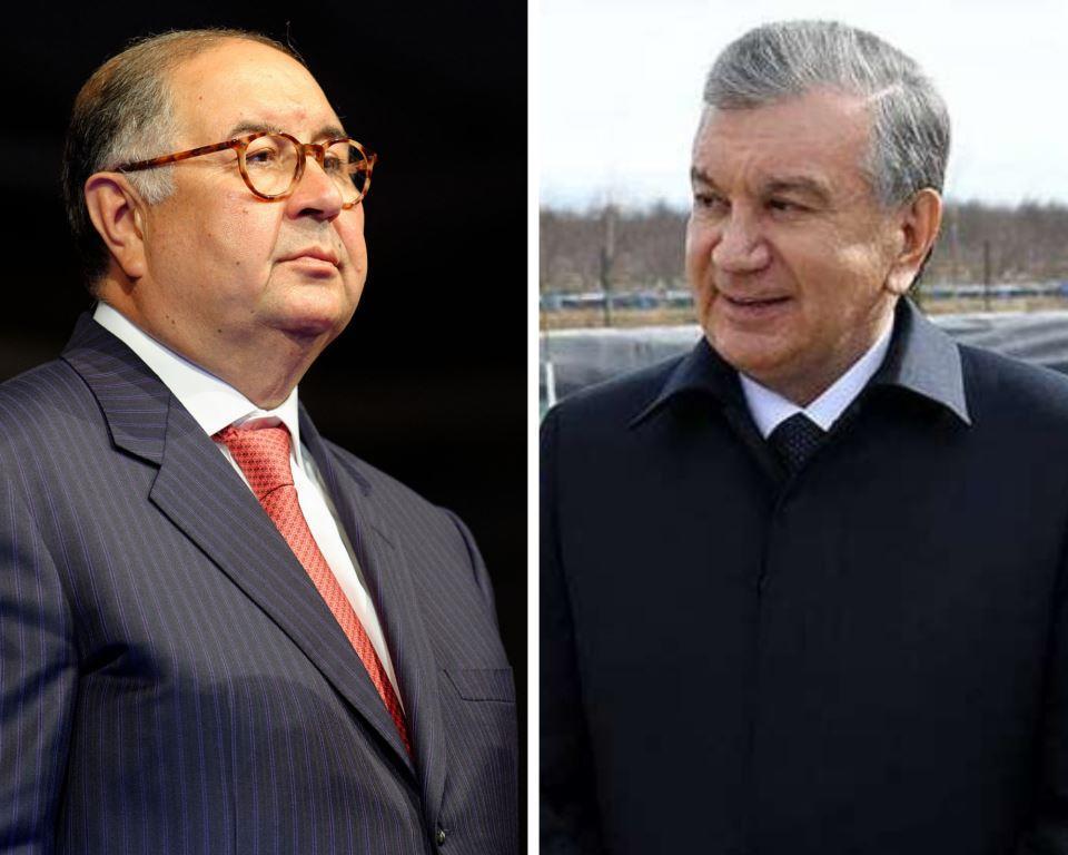 Alicher Ousmanov Chavkat Mirzioïev Relation Ouzbékistan