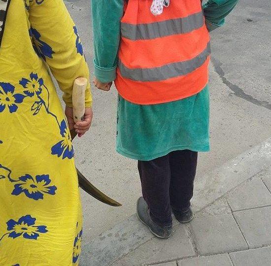 Les ouvriers de la route