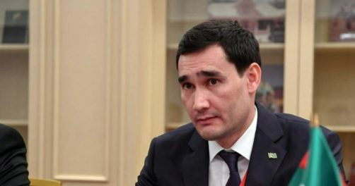 Serdar Berdimouhamedov Turkménistan