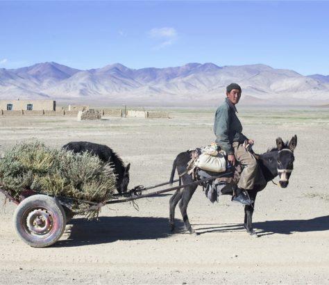 tadjikistan Lac rangkoul village journée de travail