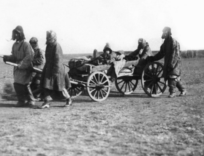 Kazakhs Kazakhstan sédentarisation Famine