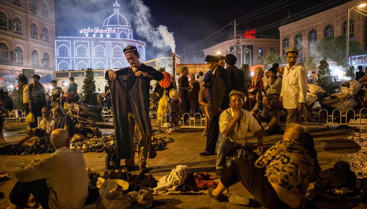 Chine Kachgar Xinjiang Repression Ouighours Surveillance