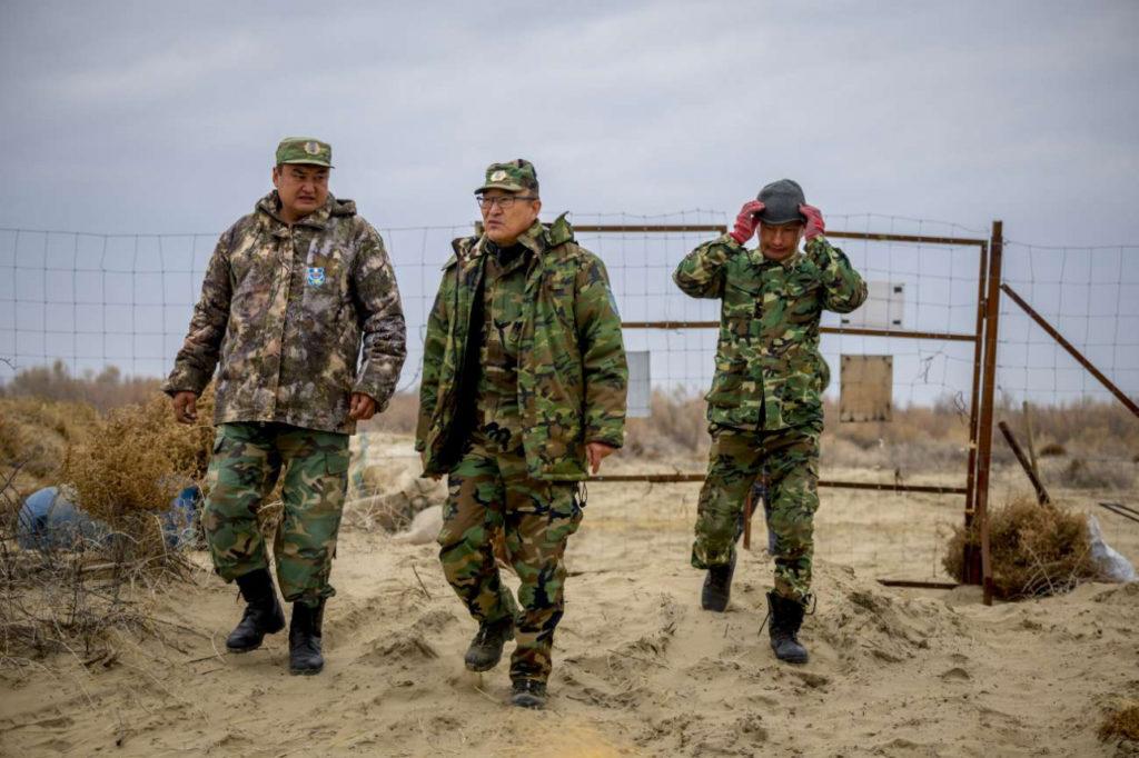 Tigre de la Caspienne Lac Balkhach Ile-Balkhach Réintroduction Environnement Cerfs de Boukhara Gardes
