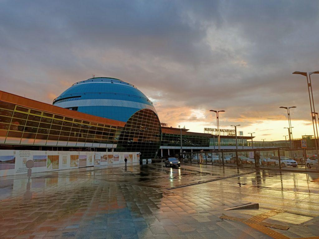 Kazakhstan Nur-Sultan Capitale Aéroport