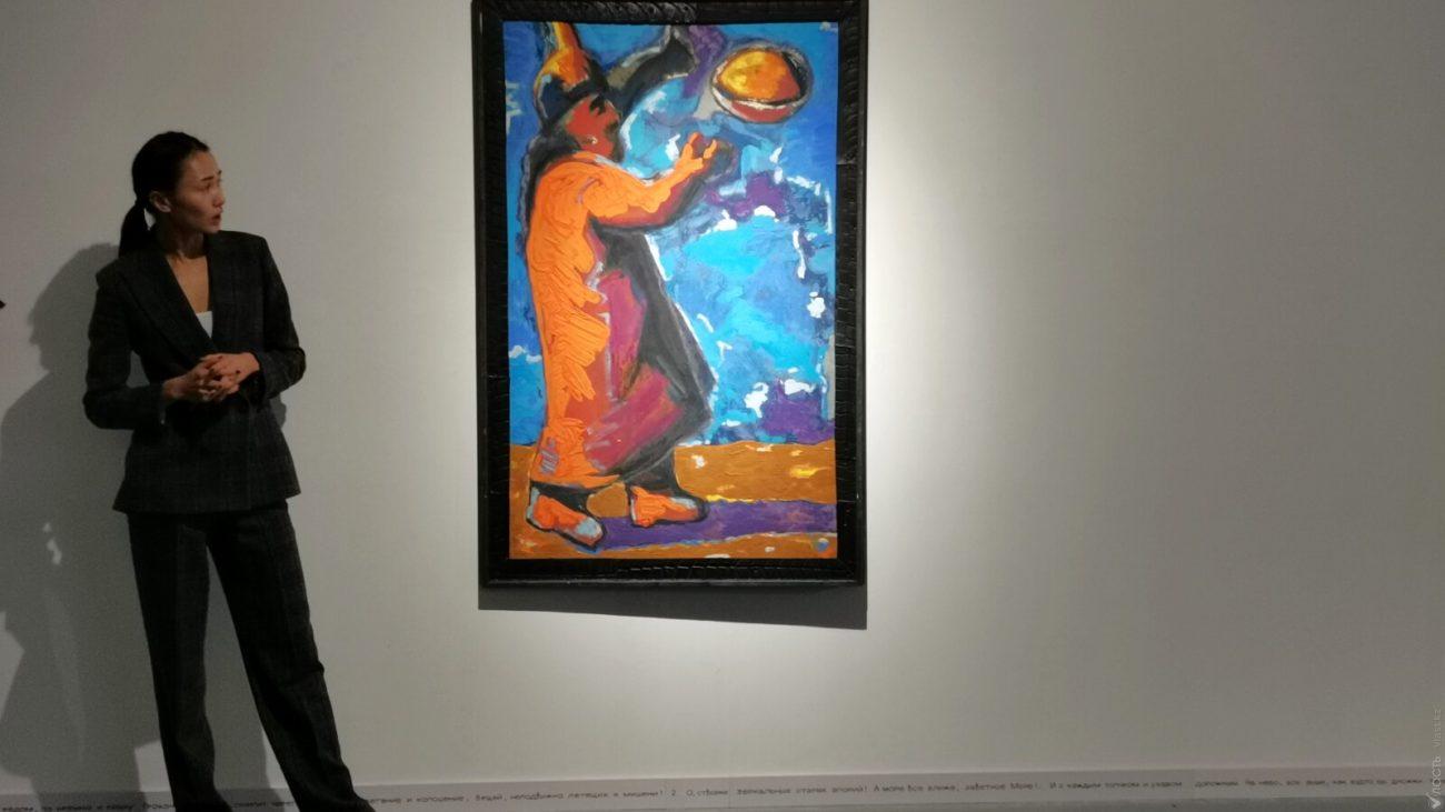 Kazakhstan Almaty Culture Art Merouert Kalieva Exposition Aspan Gallery