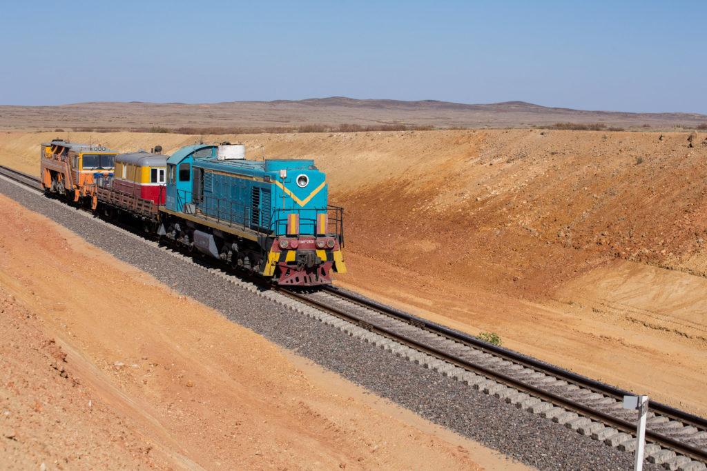 Asie centrale Infrastructures Chemin de fer train Kazakhstan