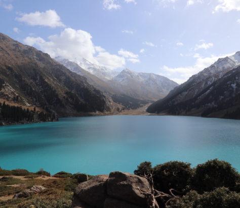 Lac Almaty Eau Environnement Asie centrale pénurie