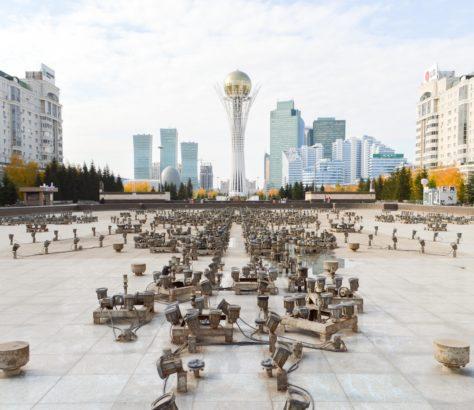 Asie centrale Pékin Moscou Russie Chine Diplomatie